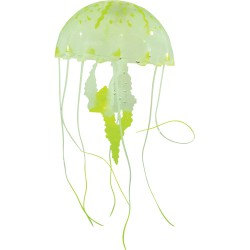 Silicone Jelly Fish, large, yellow, ca. 22 cm