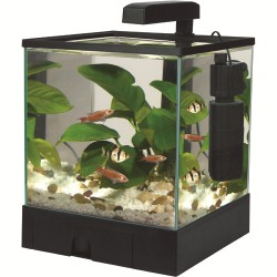 Aqua Box med LED 17L Sort