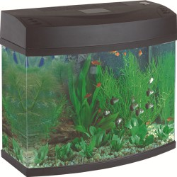 230V Pan Aquarium 20L Black GS