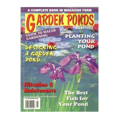 GARDEN PONDS QUARTERLY - GUIDE TO WATER GARDENING