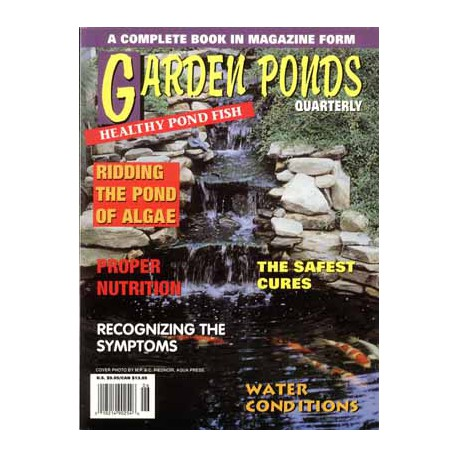 GARDEN PONDS QUARTERLY HEALTHY GARD.POND FISH
