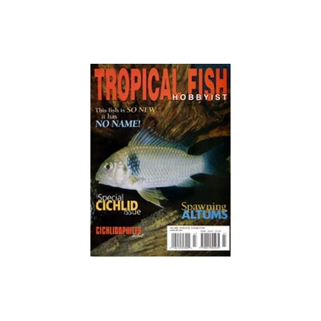 TROPICAL FISH HOBBYIST 2002 JULI