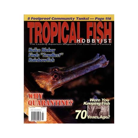 TROPICAL FISH HOBBYIST 2005 FEBRUAR