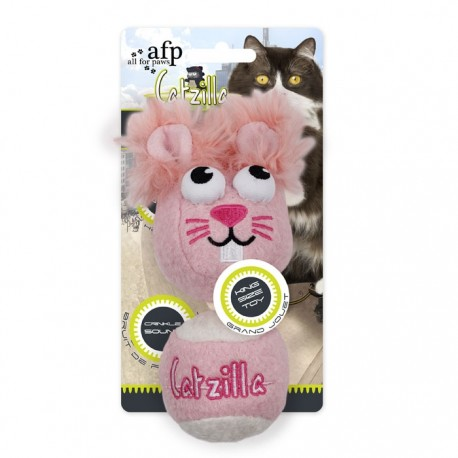 "Catzilla""Mouse Ball""King Size 2stk - Pink"