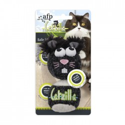 "Catzilla""Mouse Ball""King Size 2stk - Sort"