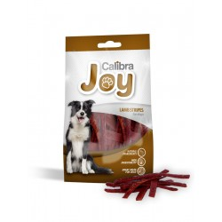 14 stk. JOY DOG LAMB STRIPES 80g - Med lam