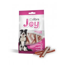 14 stk. JOY DOG CHICKEN & FISH SANDWICH 80g- Med kylling og fisk